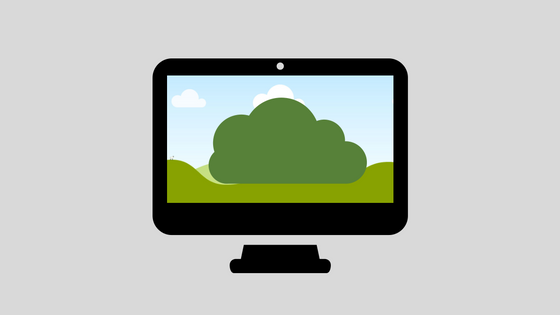 nettskyen eller desktop